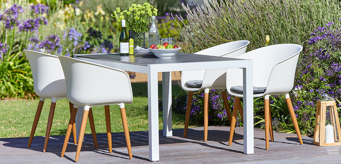 Garden furniture in artwood